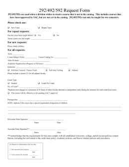 292, 492, and 592 Request Form