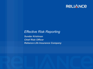 Effective Risk Reporting