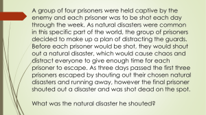 Natural Disasters and Human Impact