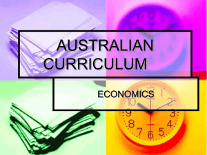 Workshop 2 - Australian Curriculum.ppt