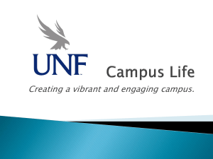 Creating a vibrant and engaging campus.