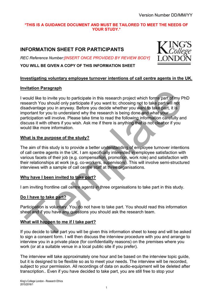 sample employee information sheet