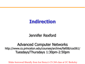 Addressing: Indirection