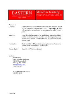 eastern master in teaching applicant data sheet