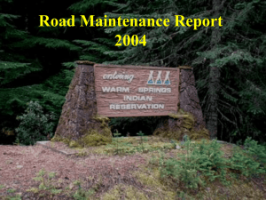 Road Maintenance 2004.ppt