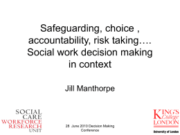 Decision-making in social work (ppt, 1,388 KB)