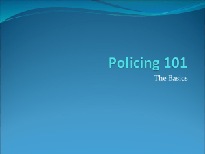Police 101 Powerpoint