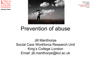 Preventing abuse of adults in hospitals (ppt, 860 KB)