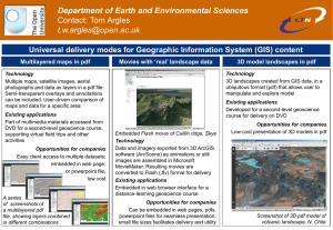 Department of Earth and Environmental Sciences Contact: Tom Argles