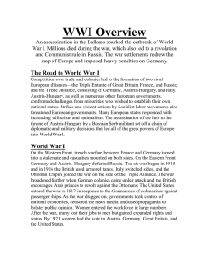 WWI Overview