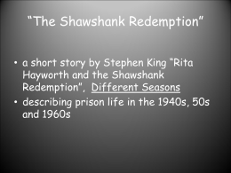 shawshank redemption essay questions Peter gardner from bellevue was looking for [i]shawshank redemption essay topics[/i] fredrick gill found the answer to a search query [i]shawshank redemption essay topics[/i.
