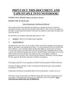 PRINT OUT THIS DOCUMENT AND TAPE/STAPLE INTO NOTEBOOK!