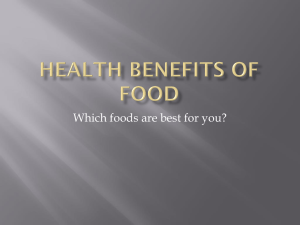 Which foods are best for you?
