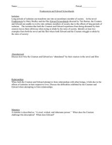 frankenstein comparison