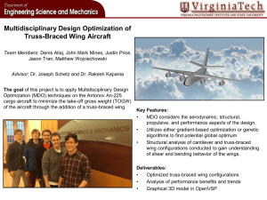 Multidisciplinary Design Optimization of Truss-Braced Wing Aircraft