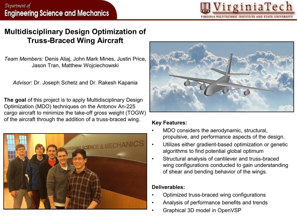 Multidisciplinary Design Optimization of Truss-Braced Wing