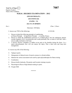 7087  M.H.S . DEGREE EXAMINATION – 2012