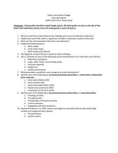 Metro Community College Nursing Program NURS 2410 Unit 8  Study Guide