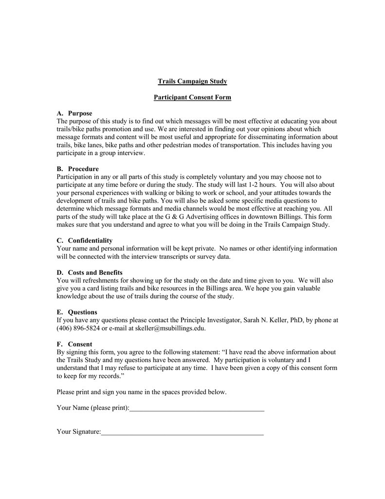 Doc600730 Survey Consent Form Sample Survey Consent Form 9 – Interview Consent Form