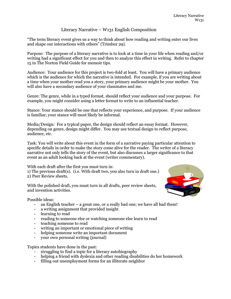 essay the lie writing structure english