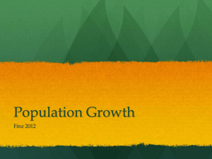 Population Growth Finz 2012