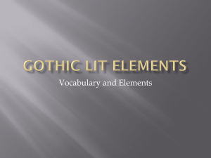 Vocabulary and Elements