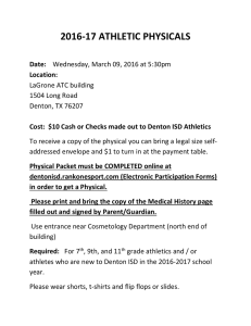 2016-17 ATHLETIC PHYSICALS