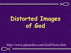 Distorted Images of God