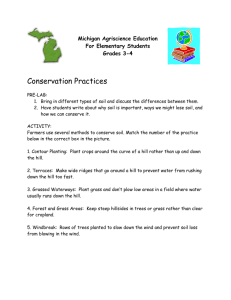 Conservation Practices Michigan Agriscience Education For Elementary Students