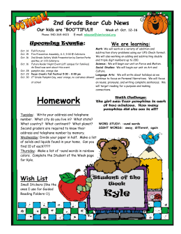2nd Grade Bear Cub News Upcoming Events:  We are learning: