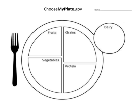 Choose My Plate Supertracker Directions