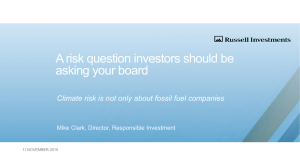 A risk question investors should be asking your board