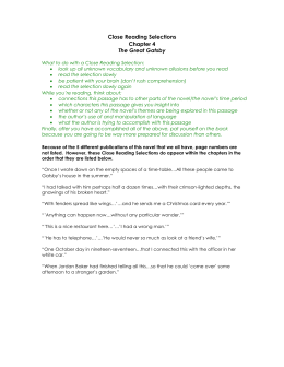 close reading selections chapter 3 the great gatsby rh studylib net The Patriot Guided Questions The Patriot Guided Questions