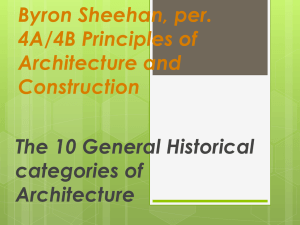 Byron Sheehan, per. 4A/4B Principles of Architecture and Construction