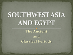 The Ancient and Classical Periods
