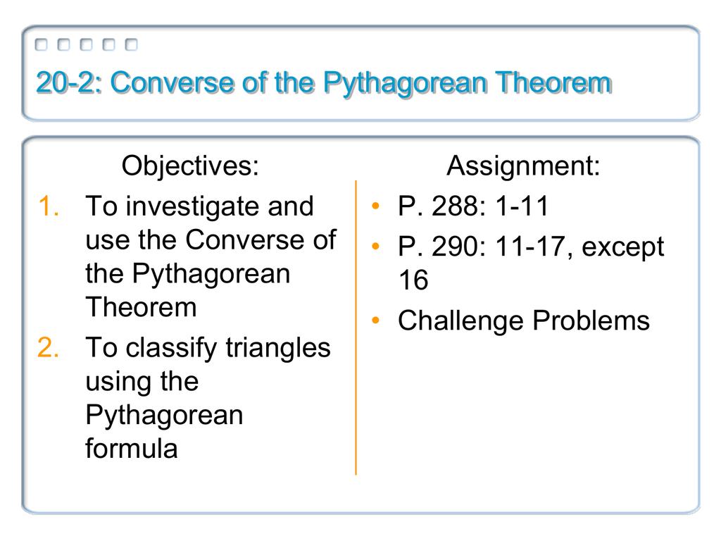 7c822c048ef8 20-2  Converse of the Pythagorean Theorem
