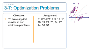 3-7: Optimization Problems