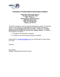 Transition of Authoritative Documents Initiative