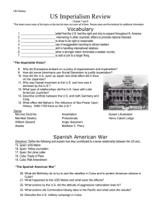 US Imperialism Review