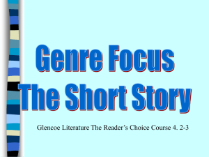 Glencoe Literature The Reader's Choice Course 4. 2-3