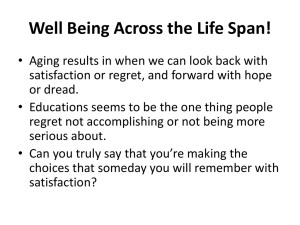 Well Being Across the Life Span!