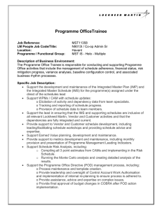 Programme OfficeTrainee