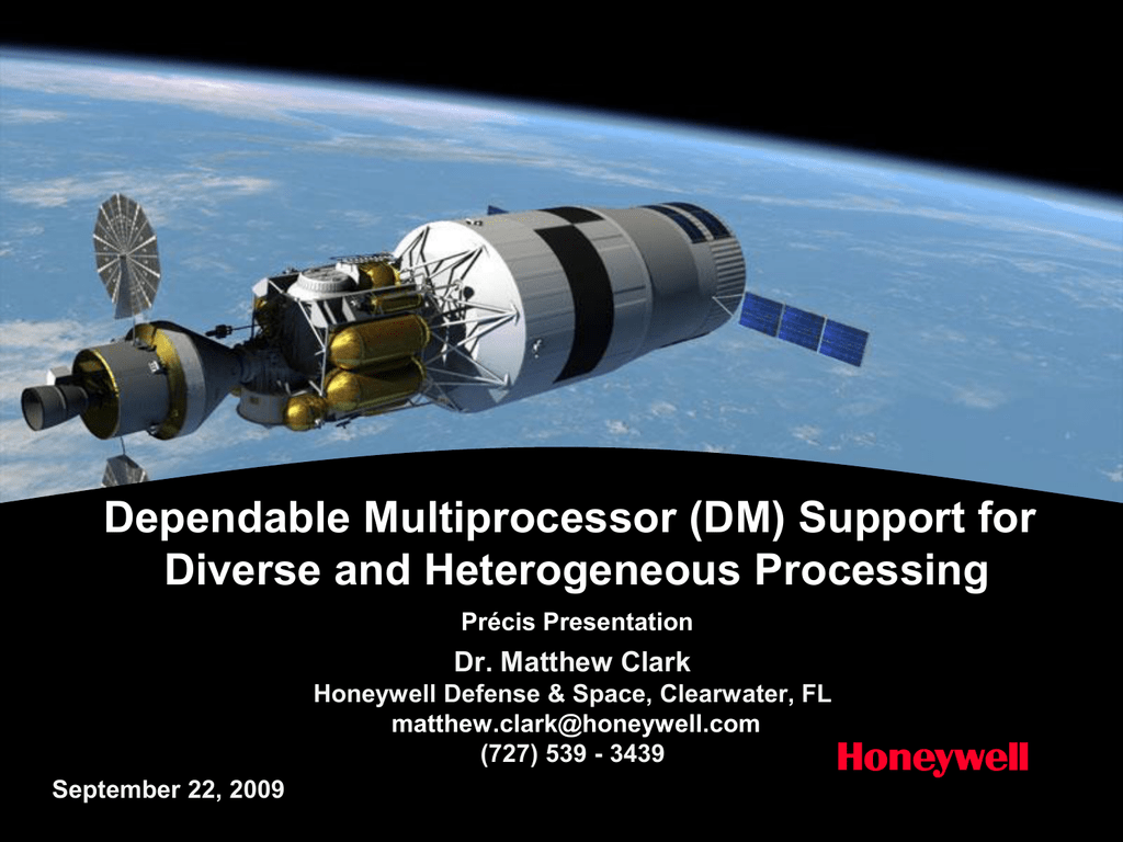 Dependable Multiprocessor (DM) Support for Diverse and