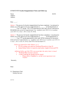 UVM FT-NTT Faculty Reappointment Notice and Follow-up Name DATE