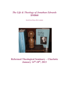 The Life & Theology of Jonathan Edwards DM860
