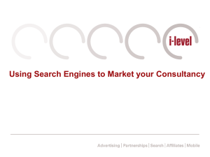 Using Search Engines to Market your Consultancy