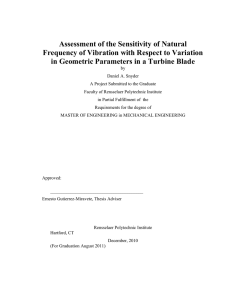 Assessment of the Sensitivity of Natural