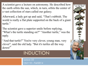 A scientist gave a lecture on astronomy. He described how