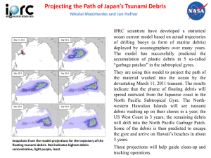 Projecting the Path of Japan's Tsunami Debris