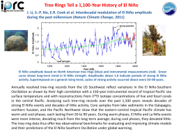 Tree Rings Tell a 1,100-Year History of El Niño